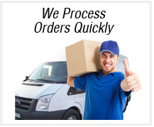 order processing time
